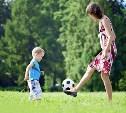 В Центральном парке проведут футбольную тренировку для мам