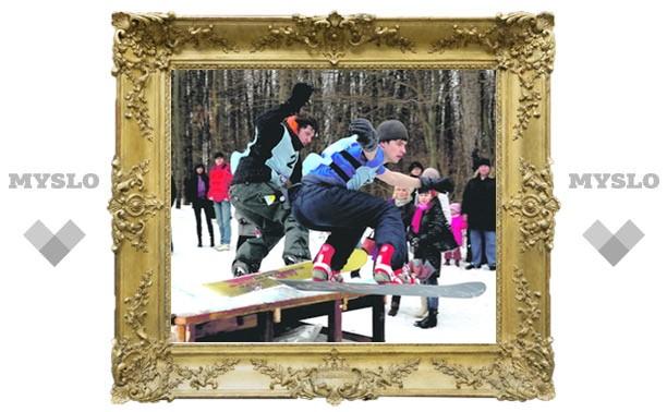 Где в Туле «живут» зимние развлечения?