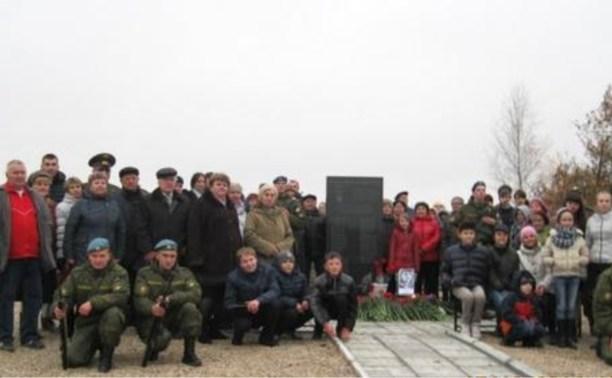 В Ленинском районе открыли памятник Герою СССР Сергею Судейскому