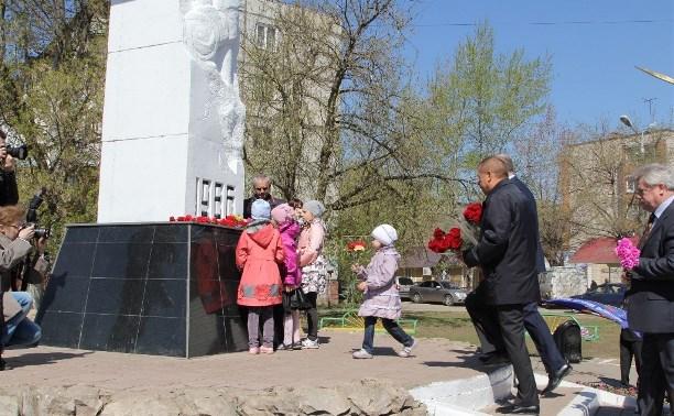 В Туле установят Стену памяти участникам ликвидации последствий аварии на Чернобыльской АЭС
