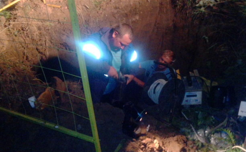 Газоснабжение в населенных пунктах Тульской области полностью восстановлено