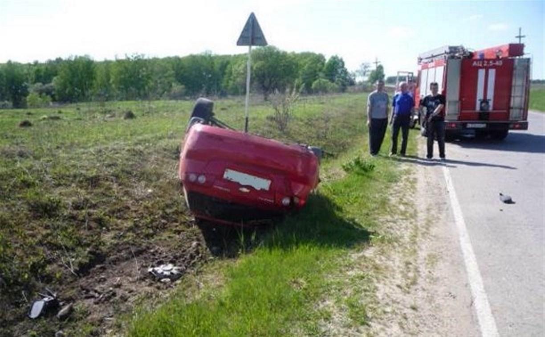 В Чернском районе столкнулись «Шевроле Лачетти» и отечественная «семёрка»