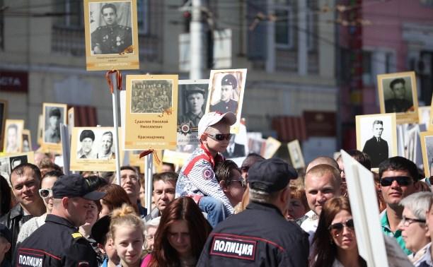 На праздновании Дня Победы безопасность туляков обеспечивали 3300 полицейских