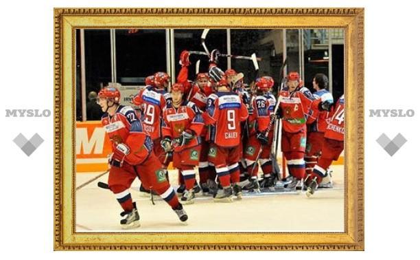 Молодежная сборная России по хоккею разгромила Словакию