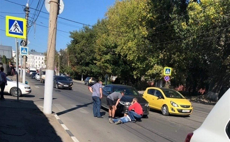 В Туле на улице Оборонной сбили пешехода