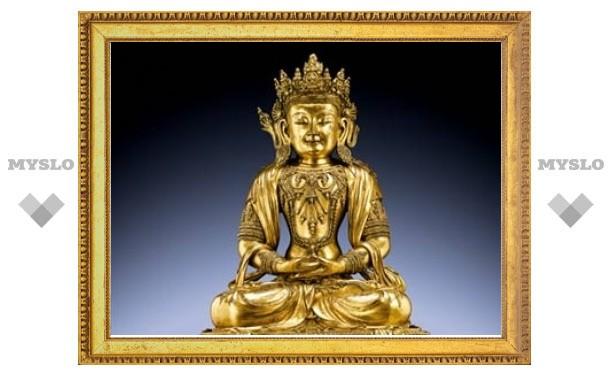Бронзового Будду продали за девять миллионов долларов