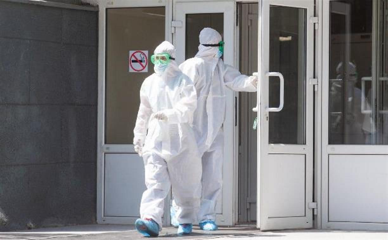 В Тульской области зафиксировано 76 новых случаев заболевания COVID-19