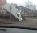 В Туле грузовая «Газель» едва не стала причиной аварии