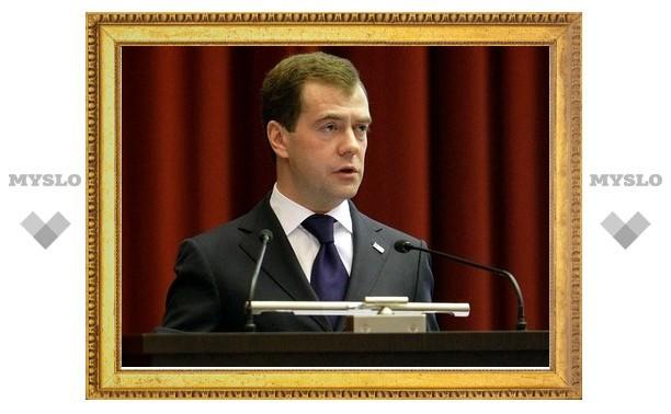 Медведев рассмотрел кандидатуры тульских губернаторов
