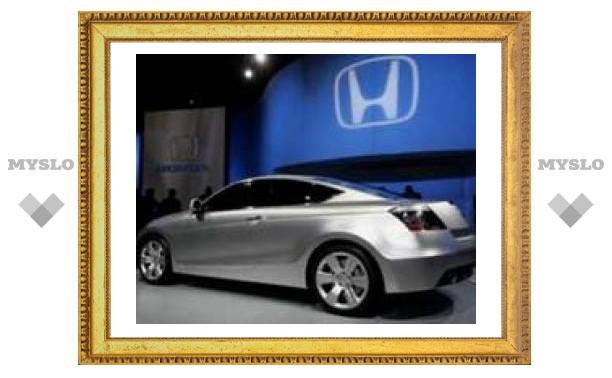 Серийную версию новой Honda Accord поймали папарацци