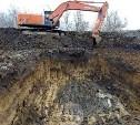Полностью устранить провал на Щекинском шоссе планируется к концу года