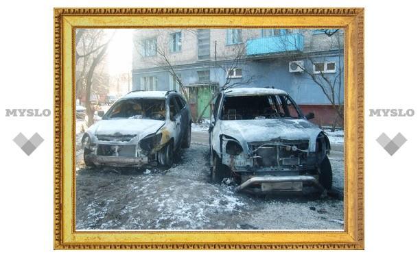 Версия поджога машин крупного тульского чиновника пока не подтверждена