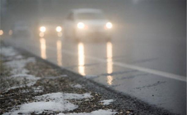 В ночь с 9 на 10 ноября в Туле ожидается туман и гололедица