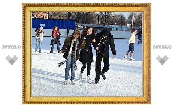 В Туле уже катаются на коньках
