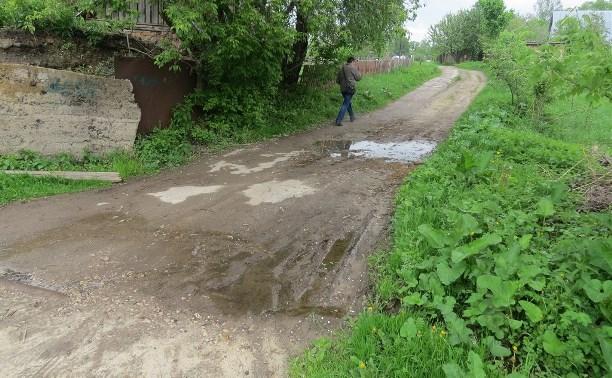 Жители Скуратово попросили Евгения Авилова обустроить тротуар и пешеходный переход