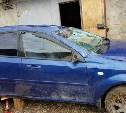Из-за рассыпанной щебенки под Тулой перевернулись два автомобиля