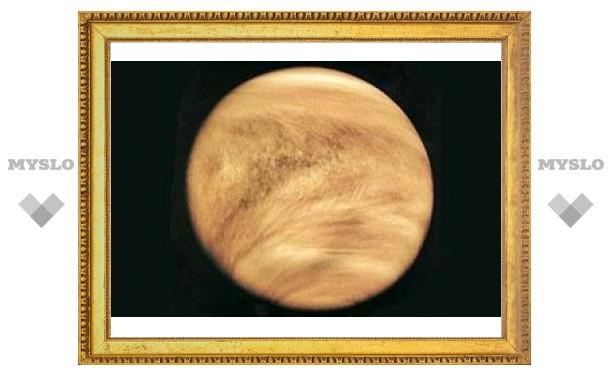 На Венере обнаружили загадочное светлое пятно