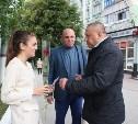 Сергей Шестаков поздравил тулячек с Днем города