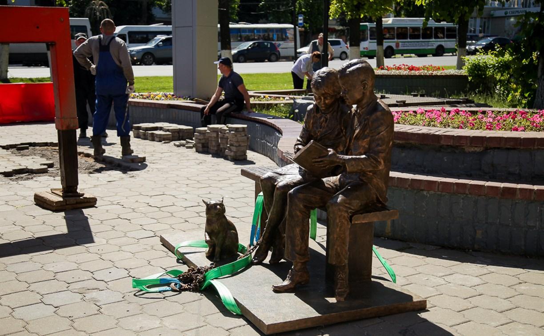 В Туле скульптуру «Место встречи» установят на пьедестал