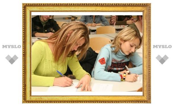 Тульские школьники сдали ЕГЭ в 2012 году хуже, чем в 2011