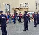 Болельщиков «Спартака» в Туле встречает полиция