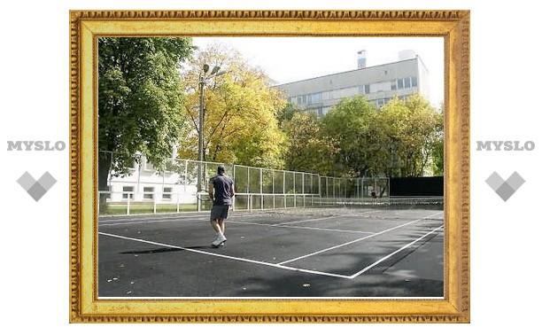В Туле открывают теннисные корты