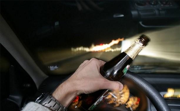 1 января в Тульской области поймали 39 нетрезвых водителей