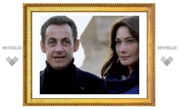 Президент Франции Саркози тайно женился