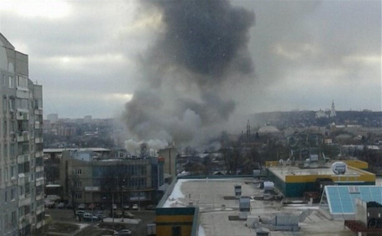 В Пролетарском районе загорелся частный дом