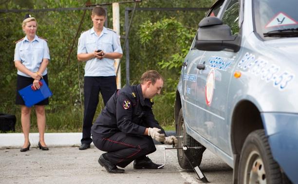 Тульские полицейские приняли участие в конкурсе водительского мастерства