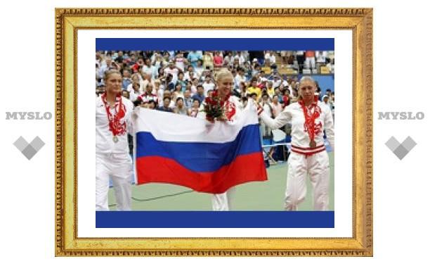 Россиянки выиграли все медали Олимпиады-2008 в женском теннисе