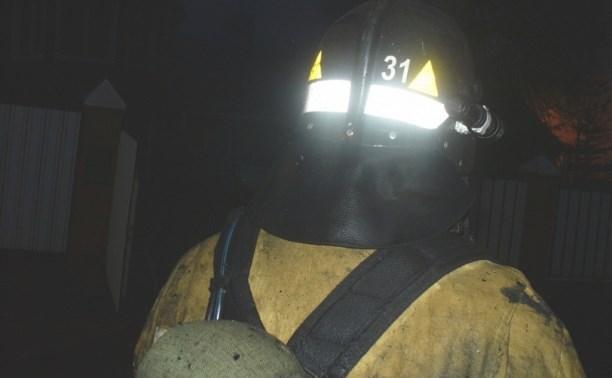 Ночью в Щёкино пожарные спасли семь человек