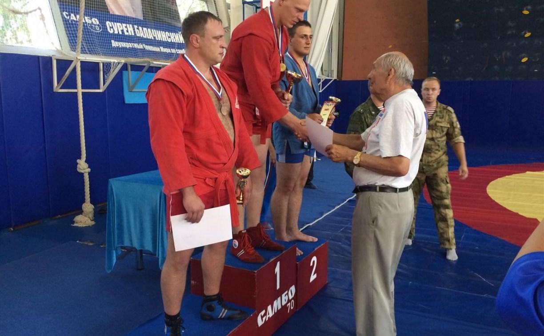 Команда Росгвардии по Тульской области на чемпионате по самбо вошла в тройку призеров