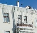 Тульские управляющие компании не очищают крыши домов от снега и сосулек