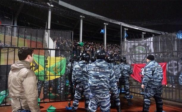 Тульская полиция задержала 15 фанатов «Торпедо»