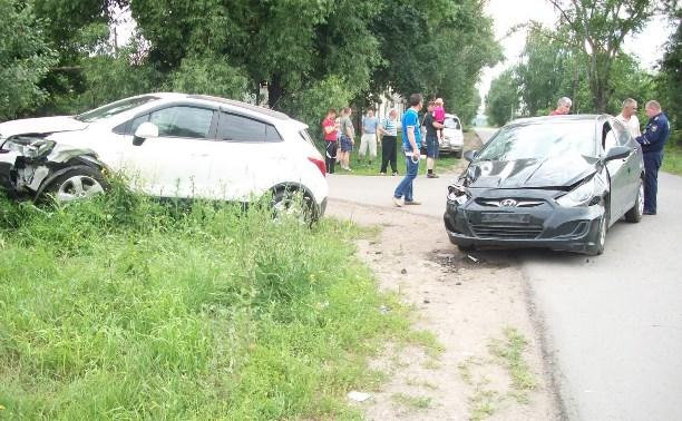 На дорогах Тульской области за сутки пострадали трое детей