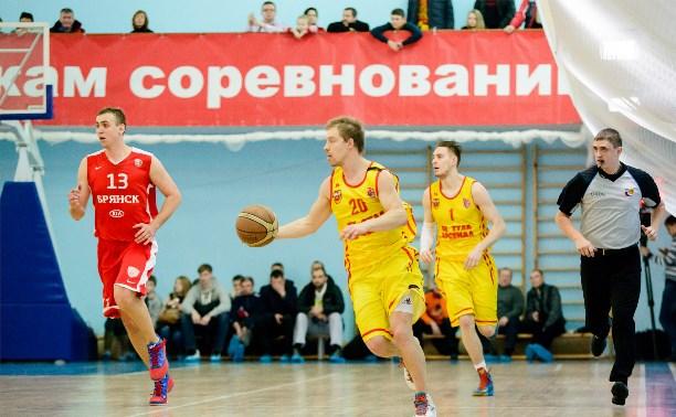 """Баскетболисты """"Тула-Арсенал"""" дважды уступили в Брянске"""
