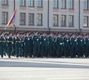 В параде Победы впервые принял участие парадный расчет МЧС