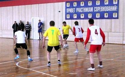 В Киреевске прошли соревнования по мини-футболу