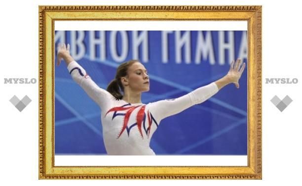 Ксения Афанасьева в составе женской сборной на Чемпионате Мира