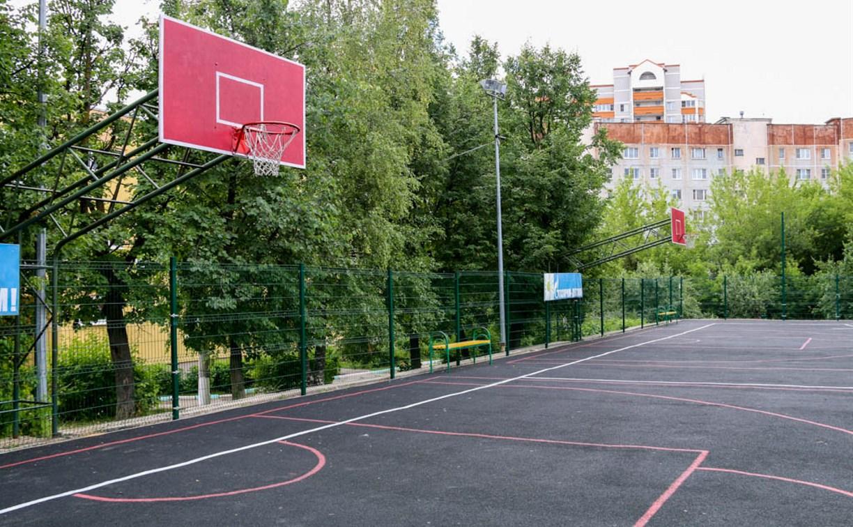 Спортивные площадки тульских школ приводят в порядок