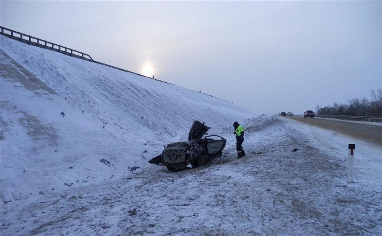 Под Тулой на трассе М-4 «Дон» погиб водитель KIA Cerato