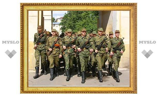 """Призыв в Алексинском районе """"недобрал"""" 185 человек"""