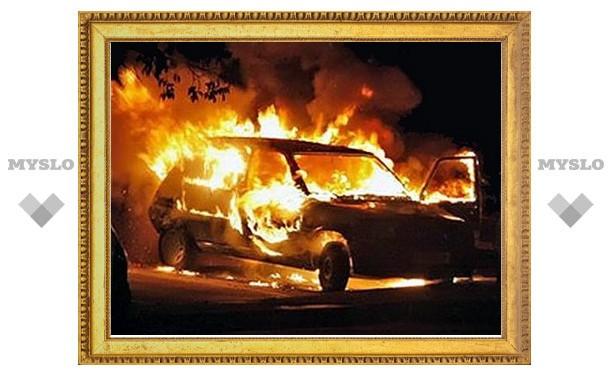 Под Тулой арестован поджигатель машин