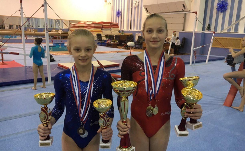 Тульские гимнастки снова лучшие на Всероссийских соревнованиях
