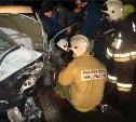 В Узловском районе «Мицубиси» влетел в отбойник