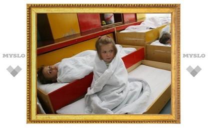 В Плехановском детском саду холодно, как зимой