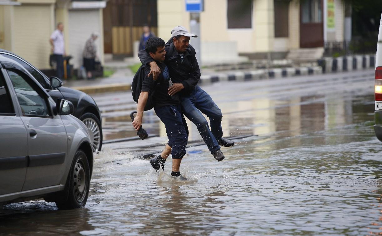 В Туле ликвидированы пять подтоплений на дорогах