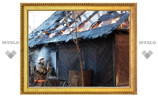 В Туле заживо сгорело три человека