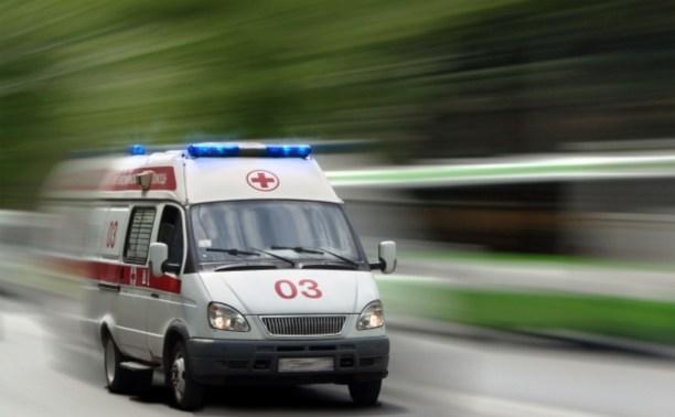 Во время грозы в Ясногорске дерево упало на голову женщине
